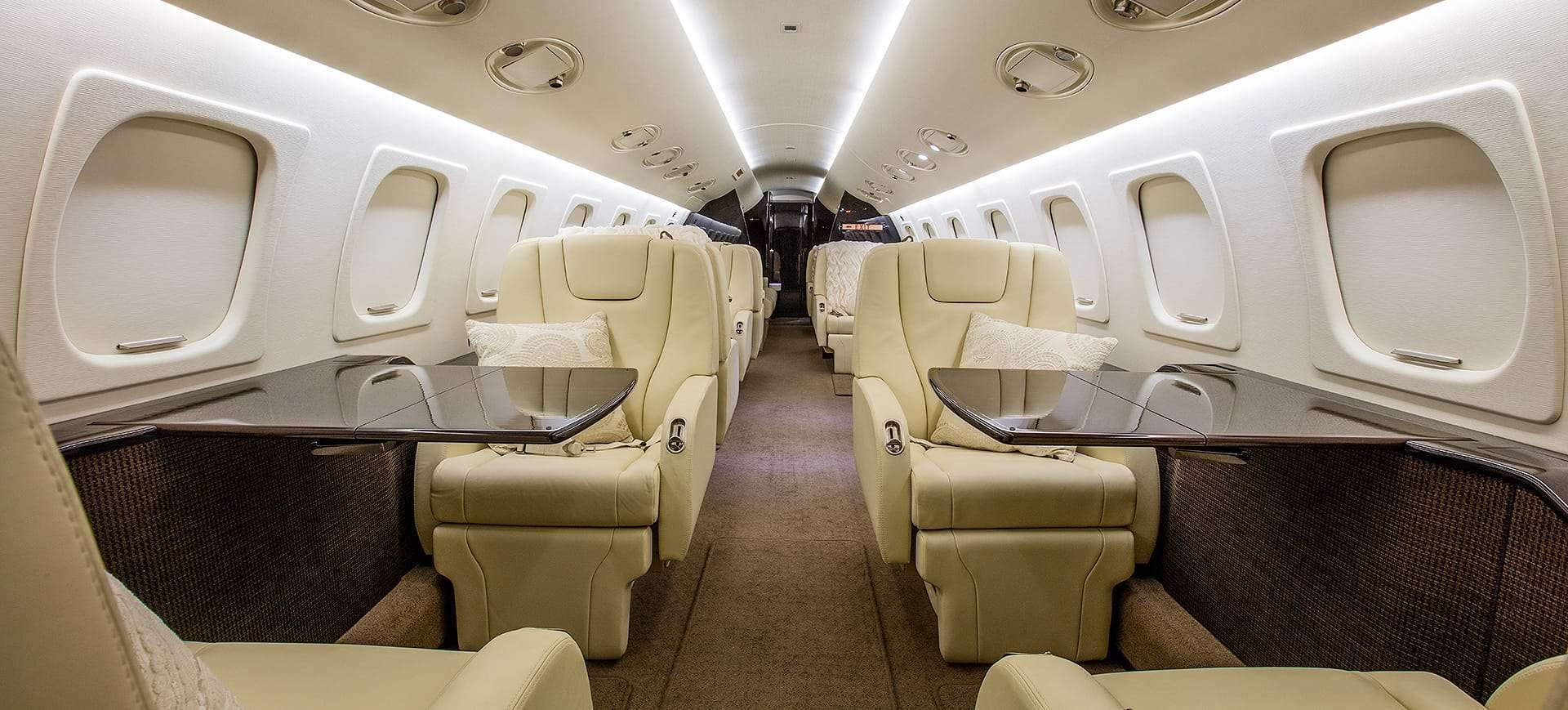 Legacy 600 Complete Interior Refurbishment