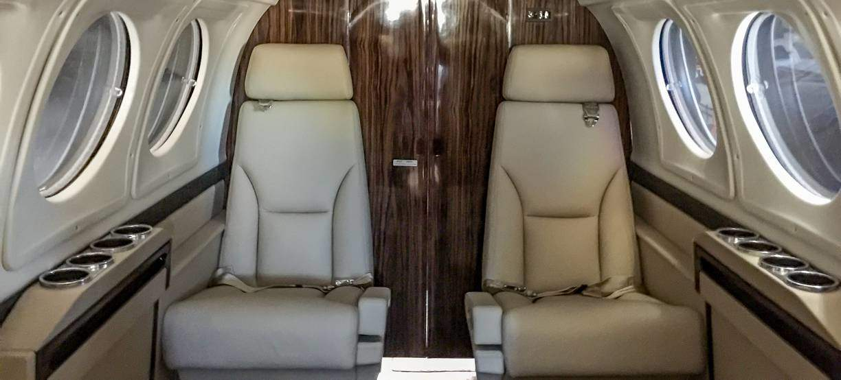King Air B200 Seating Replacement